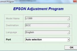 爱普生EPSON L1300 废墨清零软件及图解下载